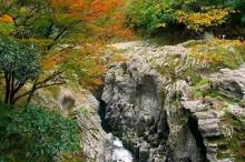 高千穂峡紅葉