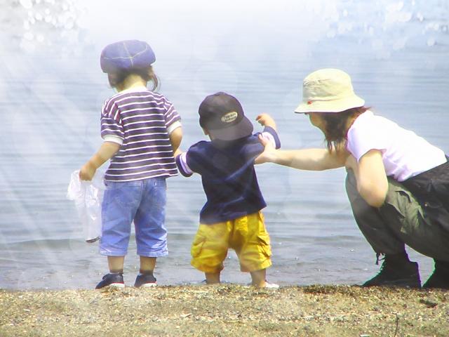 水遊びパンツマナー