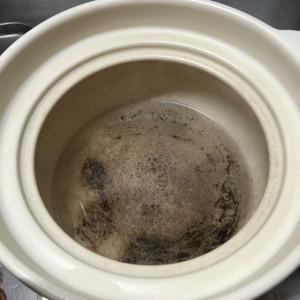 お鍋の焦げの取り方