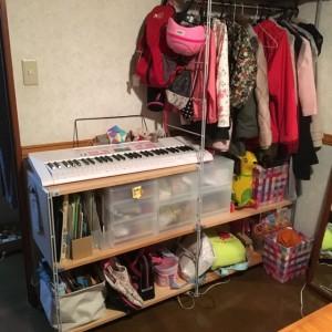 子供部屋 勉強道具 収納
